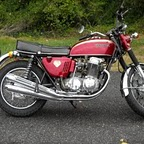 Honda CB750 69 KZ Sandcast