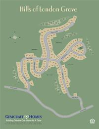 Site Plan for Hills of London Grove