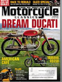 motorcycle classics august 2012 cover